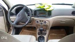 Neatly used Hyundai Accent 2008 ( UBER CERTIFIED)