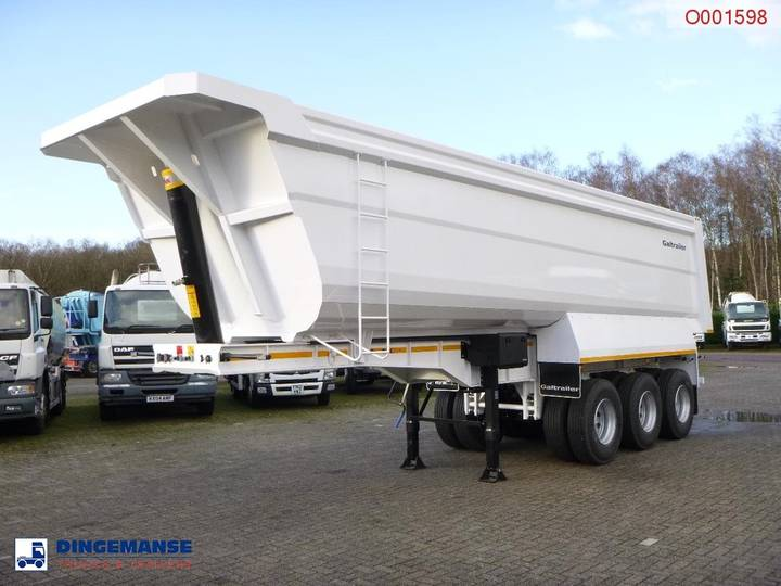 GALTRAILER  Tipper trailer steel 40 m3 / 68 T / steel sus...