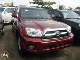 American specs 2008 Toyota 4runner. Maroon color. 4wd