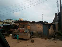 Half plot (vacant) on Aduke Thomas Street, Oshodi, Lagos