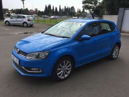 2016 Volkswagen Polo 1.2TSI Highline 5Dr Automatic,