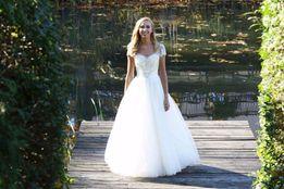 2fdfdf59df Nowa Włoska Suknia Ślubna Princessa Maxima 4617 !