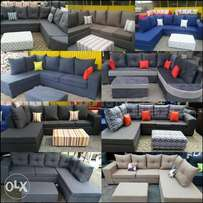 Brand new sofas made of hardwood \