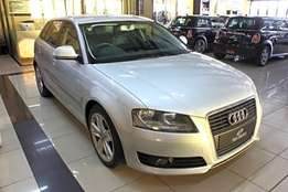 2010 Audi A3 2.0 TFSi Ambition S Tronic in Silver