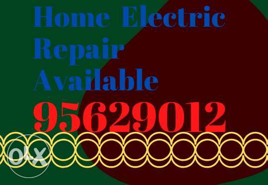 Contact me for the best home electric fix around there