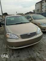004 gold toyota corolla for sale