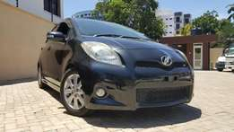 Toyota vitz rs sports package black mint condition new reg