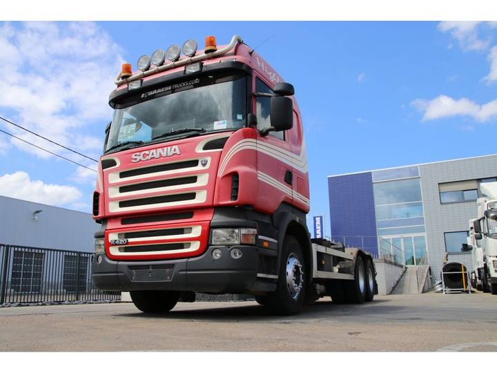 Scania R420 + 10 Tires - 2006