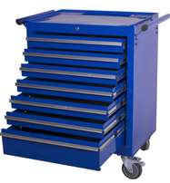 7 Draw tool cabinet on wheels lockable