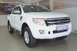 2013 Ford Ranger 3.2 double cab 4x4 XLT for saleR80.000