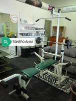 Hi there is tshepo again selling all in one gym equipment