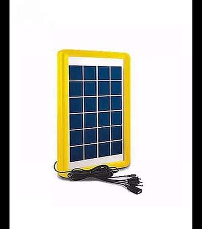 Lontor Solar Rechargeable Led Lamp With Radio & USB + Solar Panel Lagos - image 2