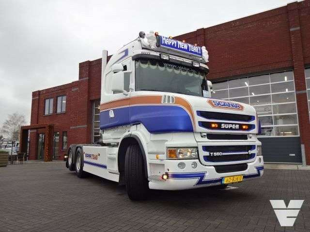 Scania T560 La6x2hsa Torpedo / Hauber / Tcab Euro 5 - 2010