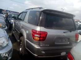 Toyota sequoia up for grabs