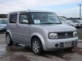 Cash or hire purchase: 2010 nissan cube