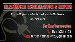 Electrical installations and repairs offers best quality of service at