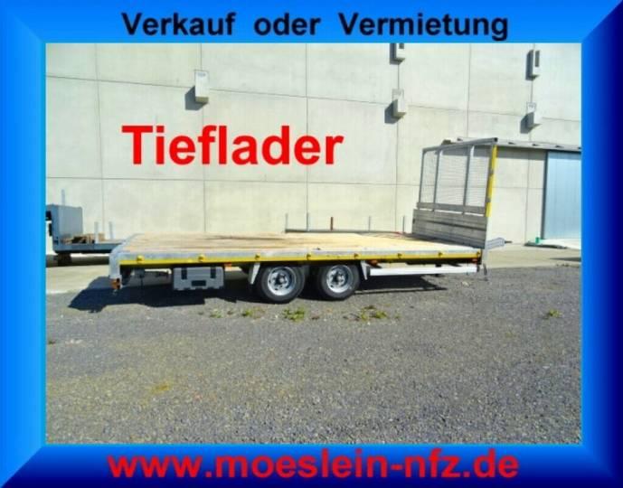 Möslein THT 11 Schwebeheim Tandem Pritschenanhänger- Tie - 2016