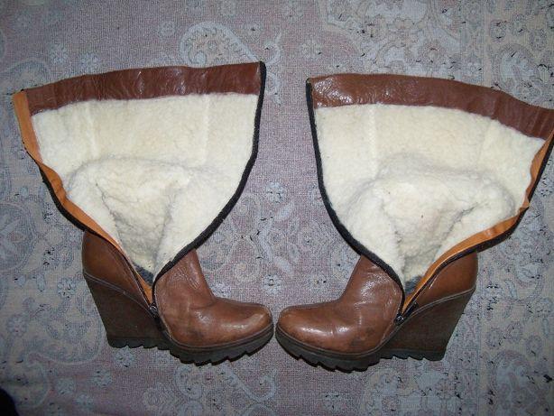 Сапожки жіночі шкіряні зимові італійського виробництва Любешів - зображення  4 ad6b53713a0f9