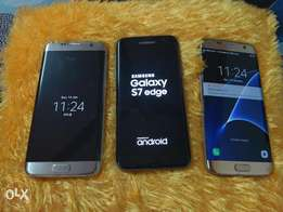 Samsung Galaxy S7 edge 32gb gold, silver and black no trade inn