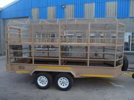 4.0m(l) x 1.8m x 2.0m Cattle Trailers for sale