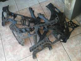 Bumper brackets for benz