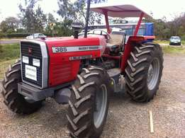 brand new 2016 model, 385 4wd,with free 3/4 disc plough.