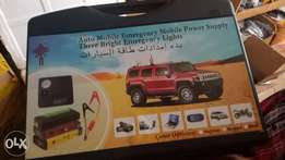 Jump starter fully equiped.
