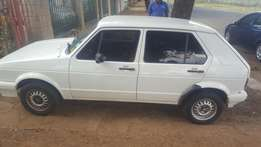 Golf 1 2002 for sale