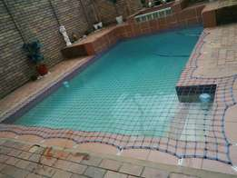Swimming pool covers and repairs
