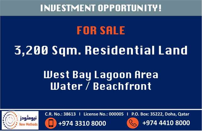 Land in West Bay Lagoon for Sale