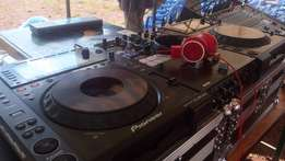 P. A system and deejay services