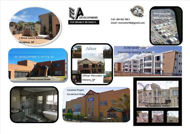 Building Contractor with 25 Years Experience Sandton - image 1