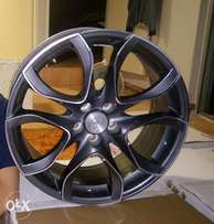 R3000 set of 18 wheels with two tires wheels alone worth 7500