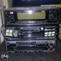 Ex Japan am/FM/tape car stereo, Free delivery within Nairobi cbd.