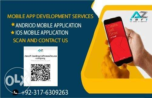 We create custom hybrid android and IOS mobile app using flutter