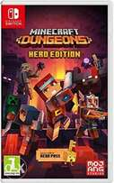 Minecraft Hero Edition for Nintendo Switch Game