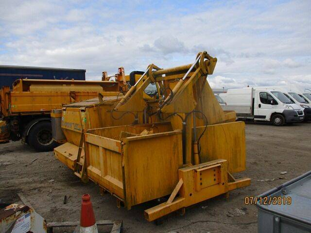 Sale demount hot box body and legs garbage truck body for  by
