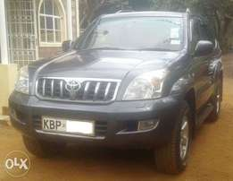 2004 Toyota L/C Prado, auto 3.0L turbo diesel, clean condition