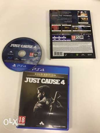 Just cause 4 gold edition for playstation4. 1$=2000L.L