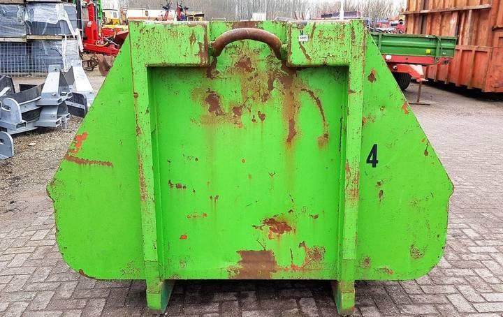 Haakarm Containerbak tipper body