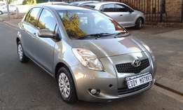 2008 model Toyota Yaris T3+ for sale R73,000. neg.