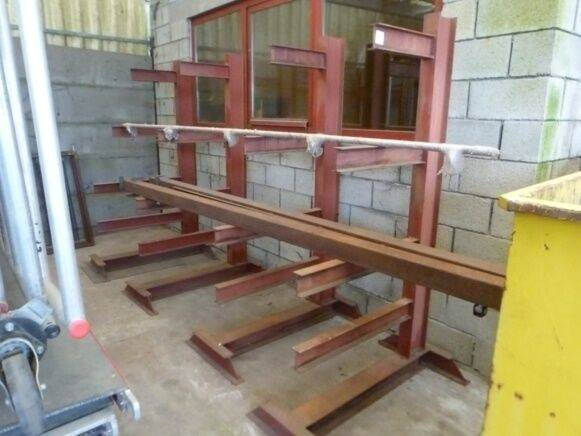 Sale metal rack warehouse shelving for  by auction