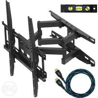 Twisting wall mounts for tvs