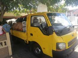 Bakkie for hire low costs call now