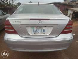 Lovely Clean First Body Mercedes-Benz C240 for grab now