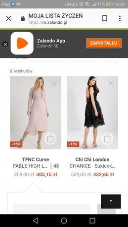 fedc3b71a4 Sukienka koktajlowa Fable High Low rozmiar 50 Siedlce - image 3