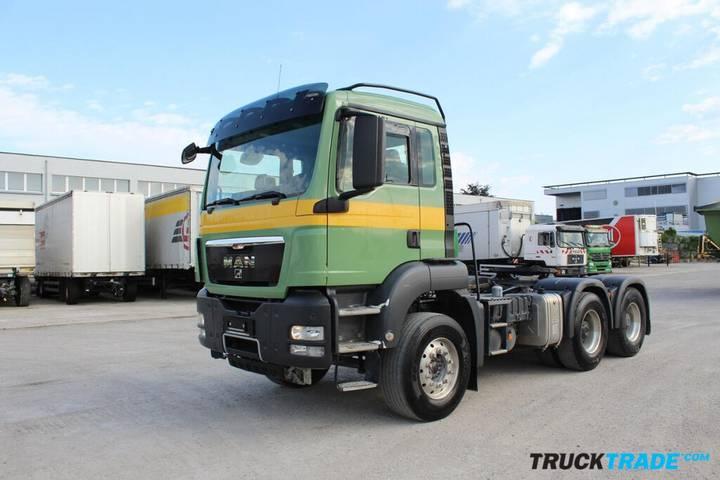 MAN TGS 26.480 6x4 Sattelzugmaschine mit Kipphyrauli - 2011