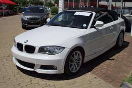 BMW 1 Series 120i convertible M Sport 2010