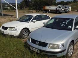 Buy the Silver Passat and get the White Passat free