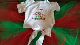 1st Christmas tutus for babies